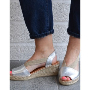 Teide P Metallic Wedge Silver