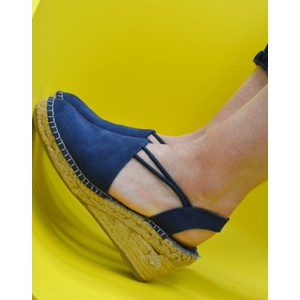 Tremp Stretch Low Wedge Navy