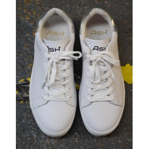 Ash Cult Metallic Silver Trainer Metallic Silver