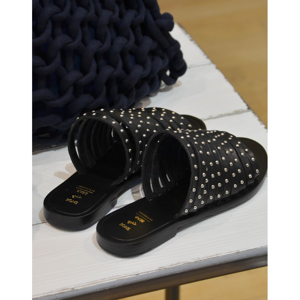 Shoe The Bear Jenna Studs Sandal Black
