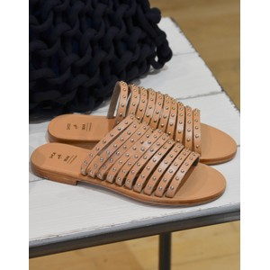 Shoe The Bear Jenna Studs Sandal Tan