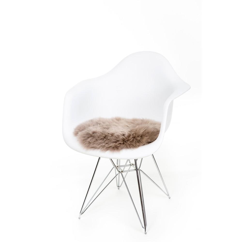 Fibre Sheepskin Seat Pad - Circle Vole