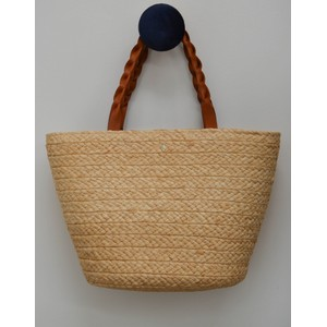 Rhianna L Bag Tan Strap Natural