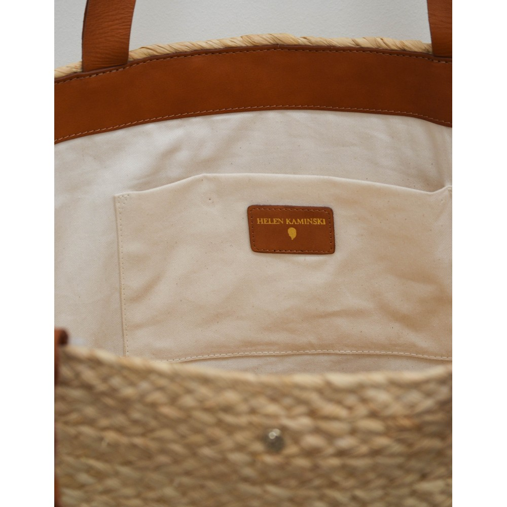 Helen  Kaminski Rhianna L Bag Tan Strap Natural