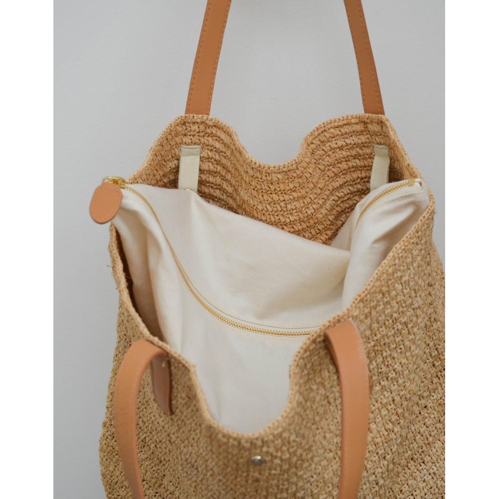 Helen  Kaminski Davolia M Tote Bag Natural/Desert