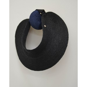 Helen  Kaminski Maris Visor in Charcoal