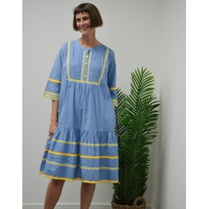 Plain Praire Mid Dress Sun Aplique