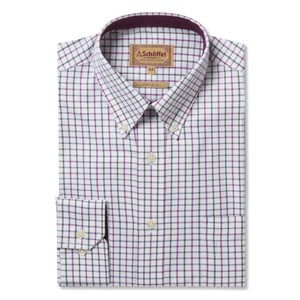 Banbury Shirt Pink/Olive Check