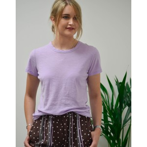 Any Short Slv Tee Lavender