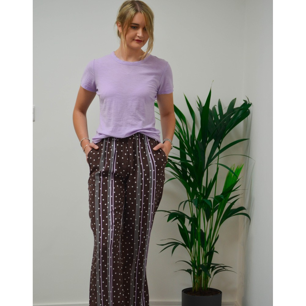 Levete Room Any Short Slv Tee Lavender