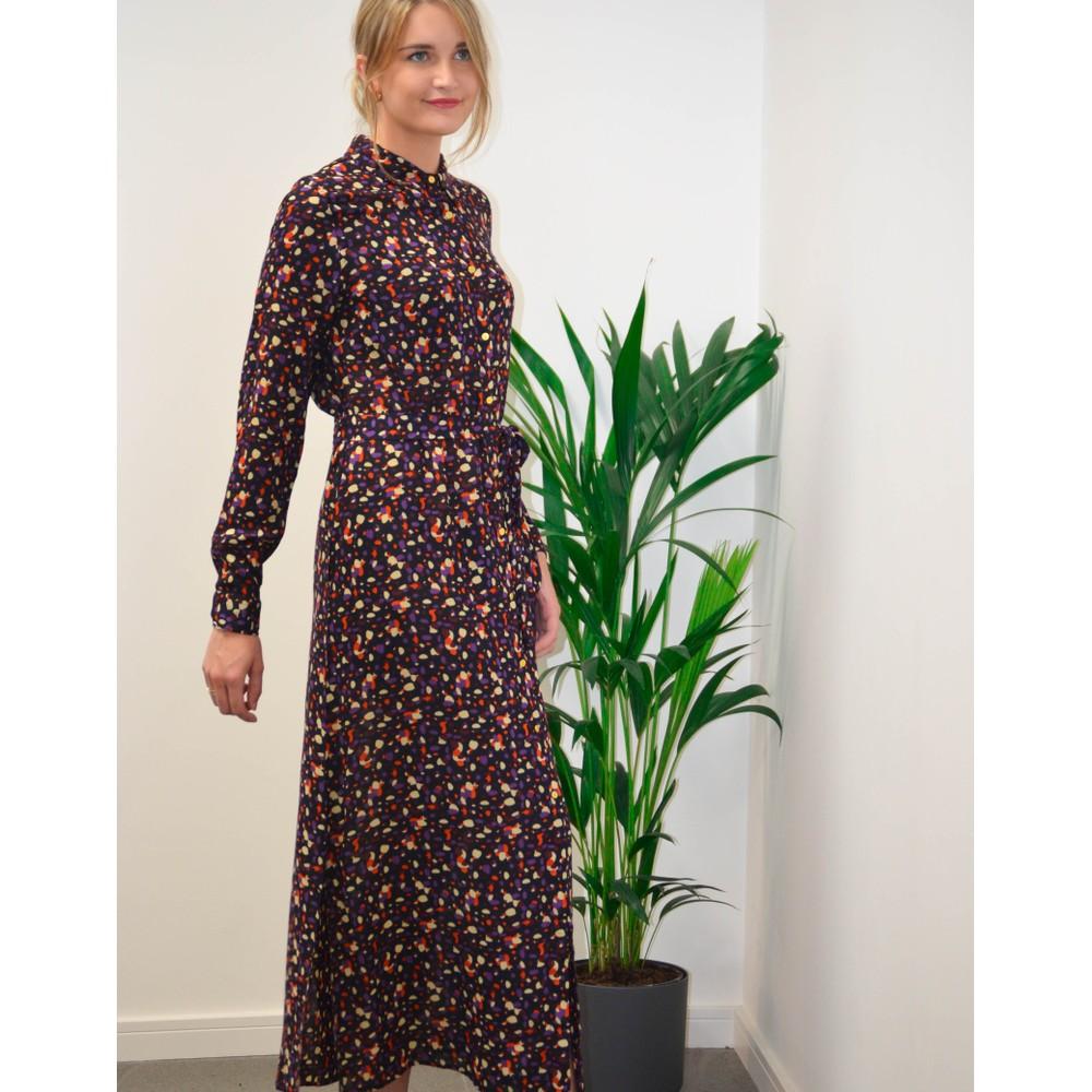Lollys Laundry Diana Dot Print Dress Black/Multi