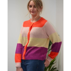 Lollys Laundry Nova Stripe Cardi Multi