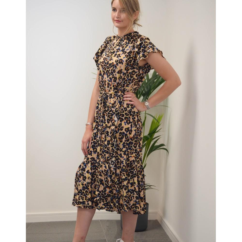 Munthe Duff Animal Print Dress Indigo/Multi