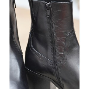 Shoe The Bear Georgia Pointed Ankle Boot Black
