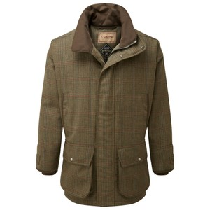Schoffel Country Ptarmigan Tweed Coat in Buckingham Tweed