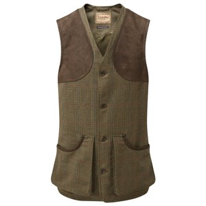 Schoffel Country Ptarmigan Tweed Waistcoat II in Buckingham Tweed