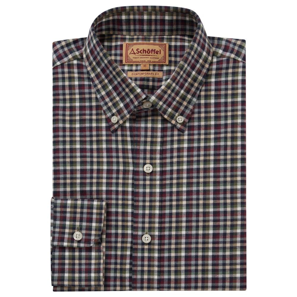 Schoffel Country Berkshire Shirt Fig/Navy/Beige
