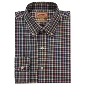 Berkshire Shirt Fig/Navy/Beige