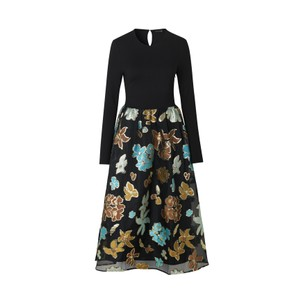 Alba Floral Organza Skirt Dress Flower Garden Autumn