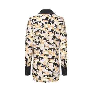 Stine Goya James Swans Blouse Swans Black