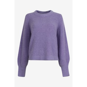 Courtney Ribbed Jumper Bougainvilla