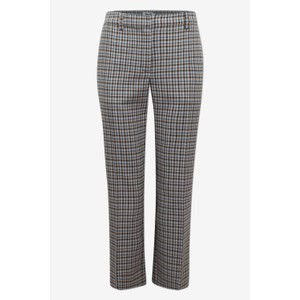 Noa Check Crop Trousers Dusk Autumn Check