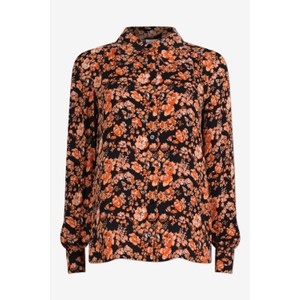 Maiken Shirt Peach/Black Floral