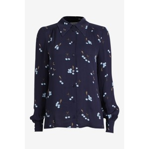 Maiken Shirt Blue Cherry