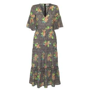 Alice Midnight Bloom Dress Brown/Multi
