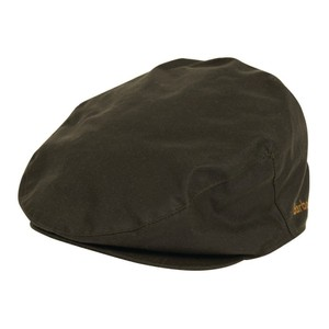 Barbour Icons Flat Cap in Sage