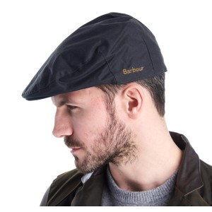 Barbour Icons Flat Cap Navy