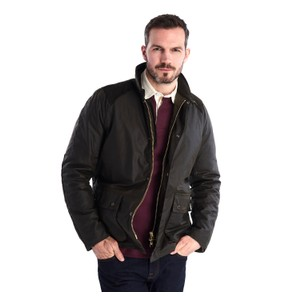 Barbour Aldwark Wax Jacket Olive