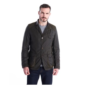 Icons Bcn Sport Wax Jacket Olive