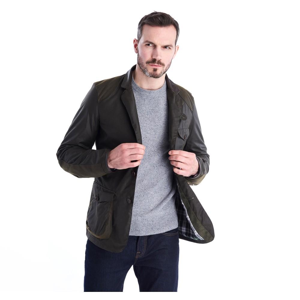 Barbour Icons Bcn Sport Wax Jacket Olive