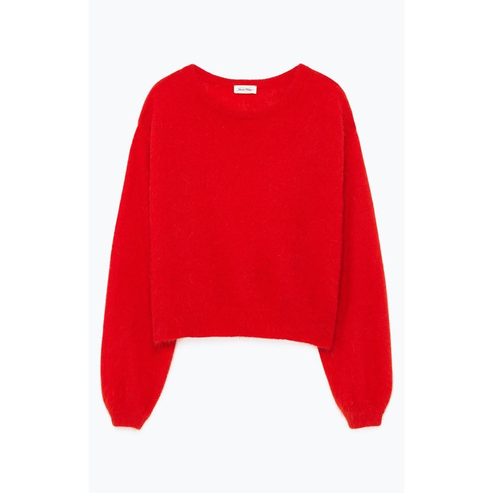 American Vintage Mitibird Angora Sweater Chilli