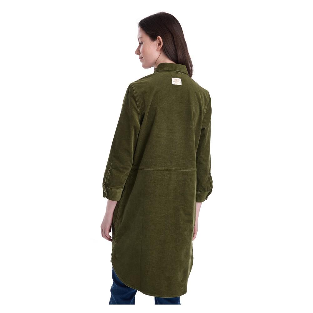Barbour Crest Dress Sage