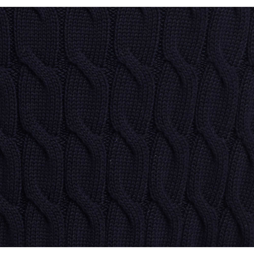 Barbour Lewes Knit Navy