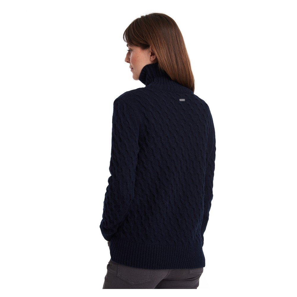 Barbour Burne Knit Navy