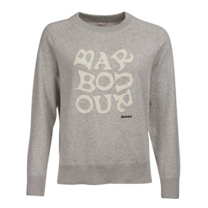 Barbour Chloe Knit Pale Grey Marl
