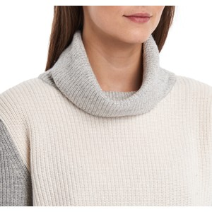 Barbour Dipton Roll Neck Knit Cloud/Grey Marl