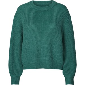 Ameli Chunky Rib Knit Teal Green