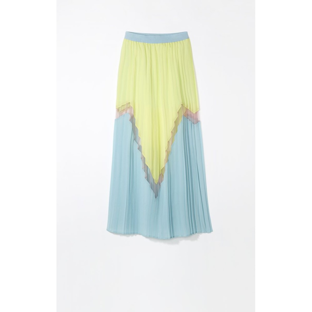 Delicate Love Kira Pleated Skirt Flash Sun