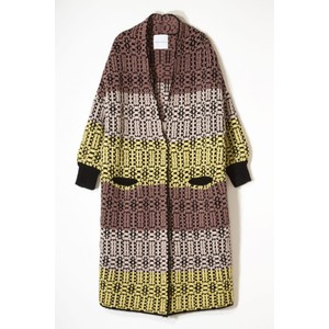Anna Bubble Cardi Black/Multi