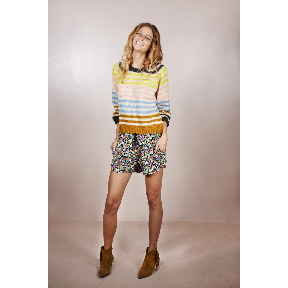 Lollys Laundry Lana Multi Stripe Jumper Multi