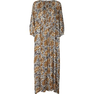 Lollys Laundry Gudrun Floral Sheer Dress Cream/Copper/Blue