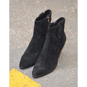 Ash Esquire Pointed Ankle Boot Black