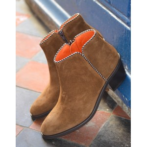 Penelope Chilvers Paco Suede Boot in Peat