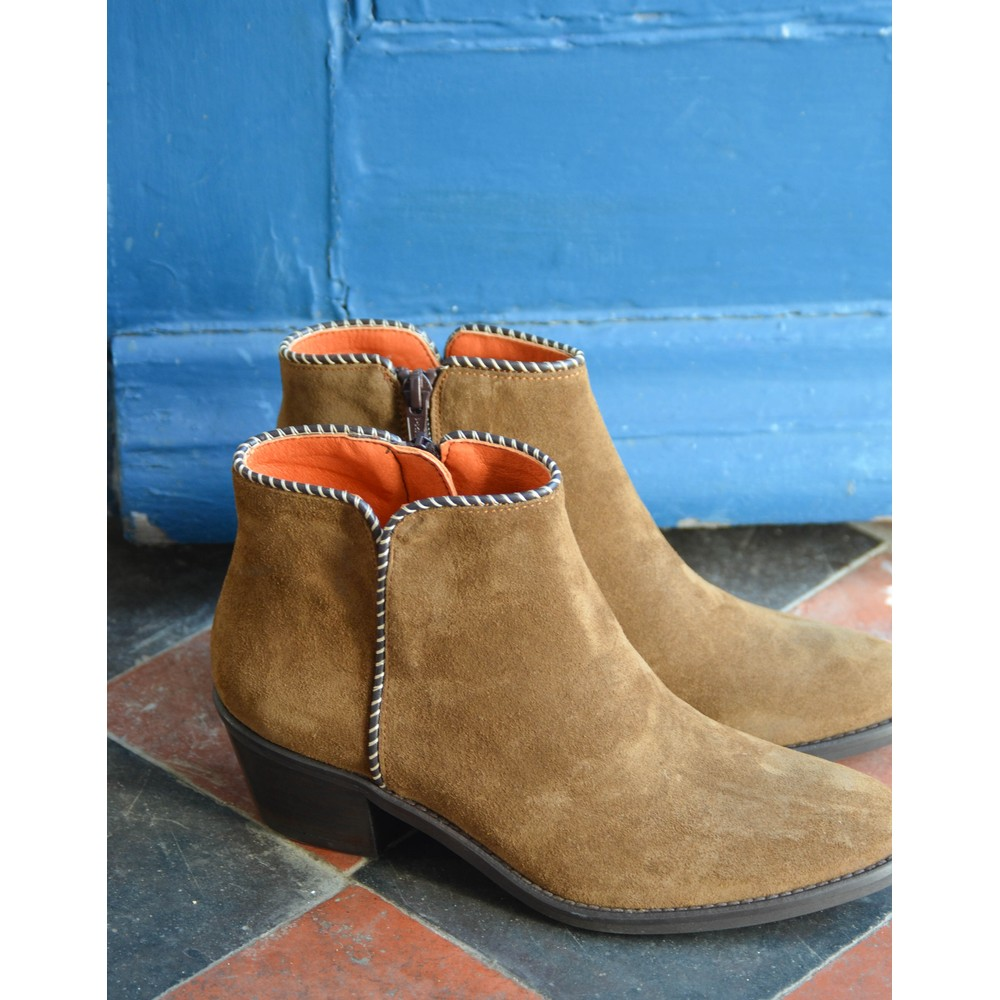 Penelope Chilvers Paco Suede Boot Peat