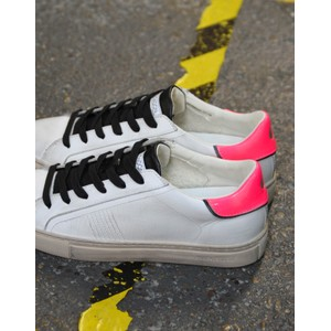 Crime London Beat  Trainer White/Pink