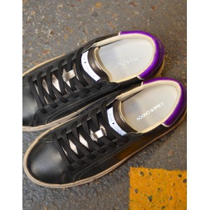 Crime London Beat Trainer Black/Purple